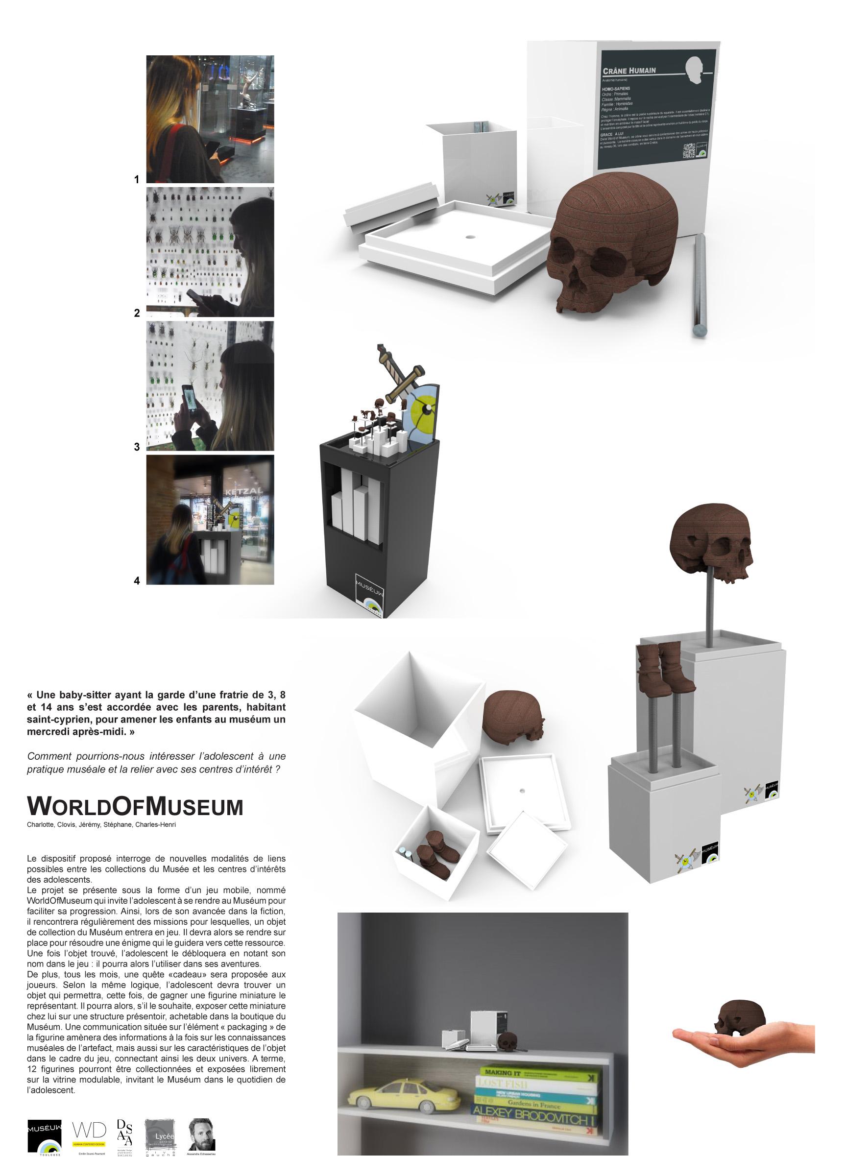 Dsaa Design Produit Toulouse 8 projets pour le muséum d'histoire naturelle de toulouse